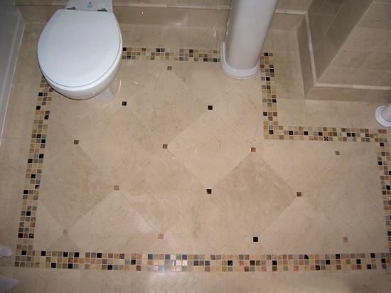 Напольное покрытие для ванной комнаты Натуральный камень