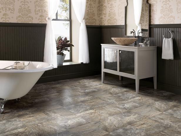 Напольное покрытие для ванной комнаты Влагостойкий паркет