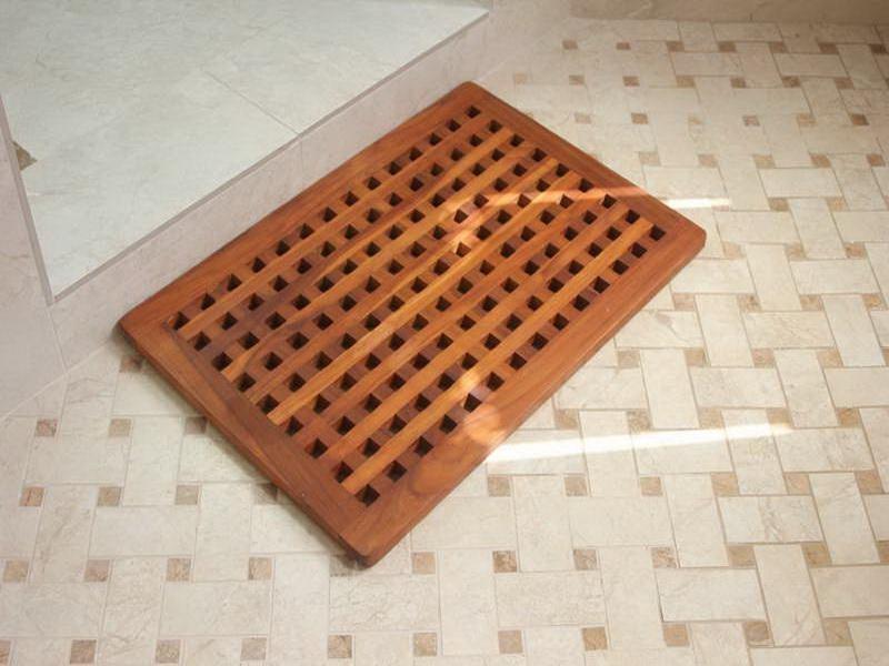 Напольное покрытие для ванной комнаты Паркет-тик